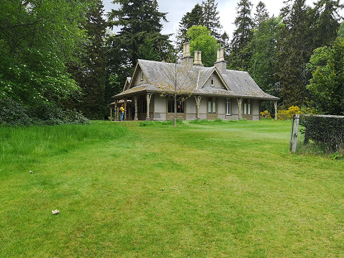 Wooden cottage at Balmoral