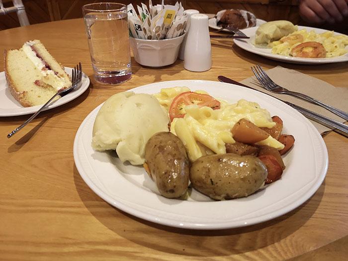Lunch at Balmoral