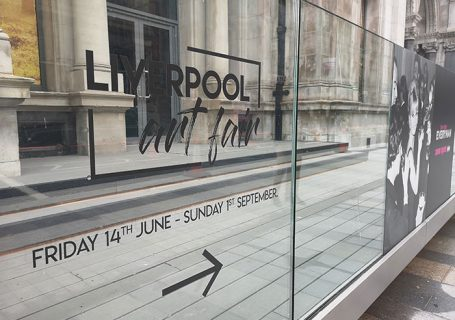 Liverpool Art Fair at Metquarter sign