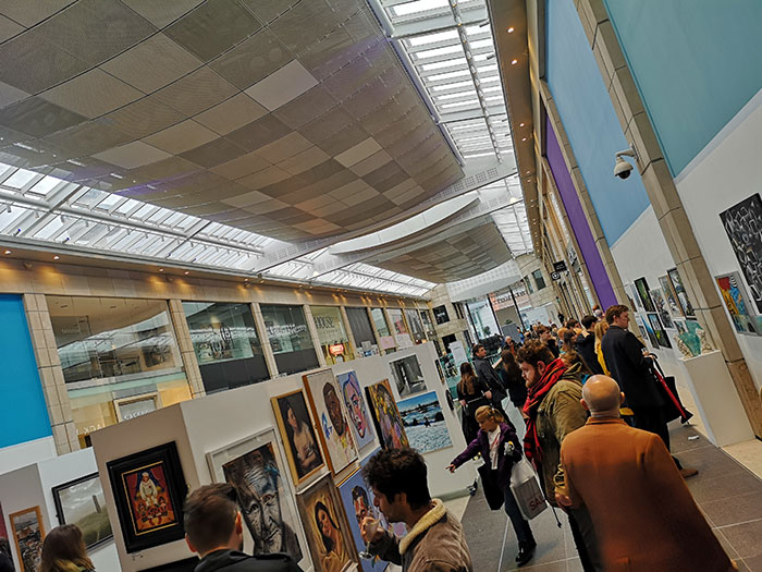 Liverpool Art Fair at Metquarter. Preview