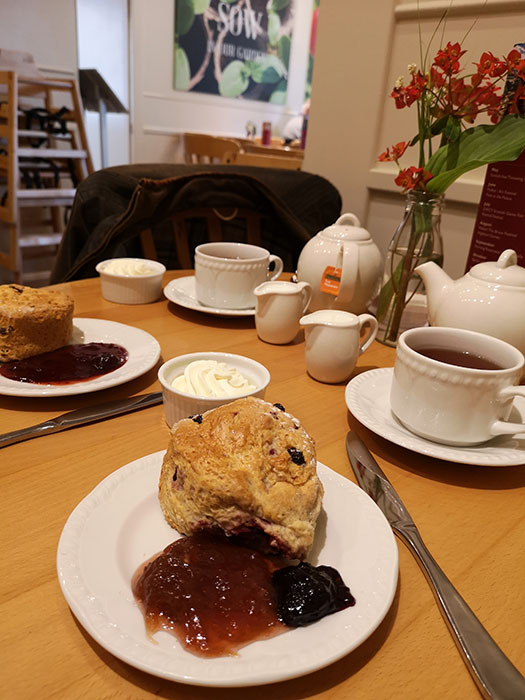 Scones at Scone Palace