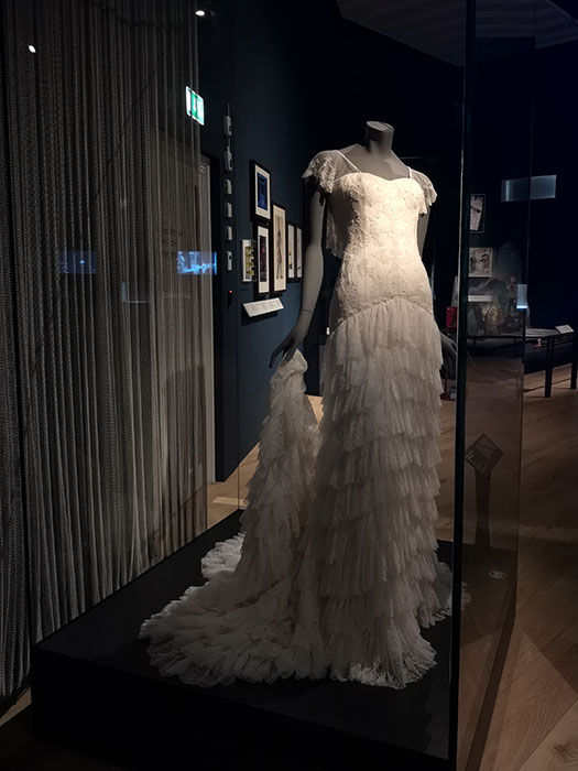 V&A Dundee - Wedding dress by Alexander MxQueen