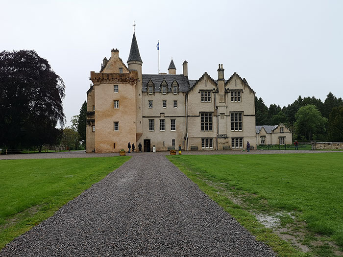 Brodie Castle. Front view