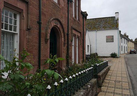 Groam House Museum. Outside