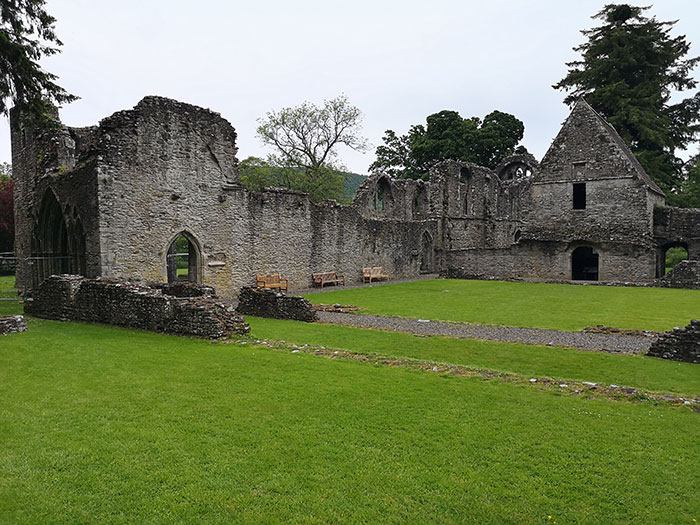 Inchmahome Priory in ruins