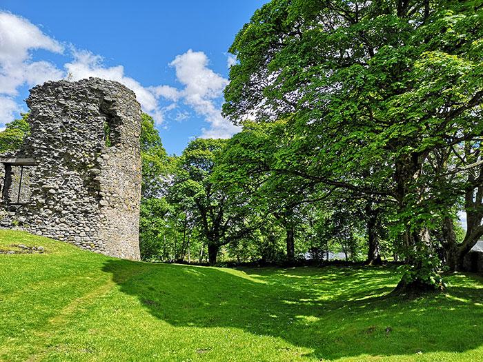 Inverlochy castle in Fort William