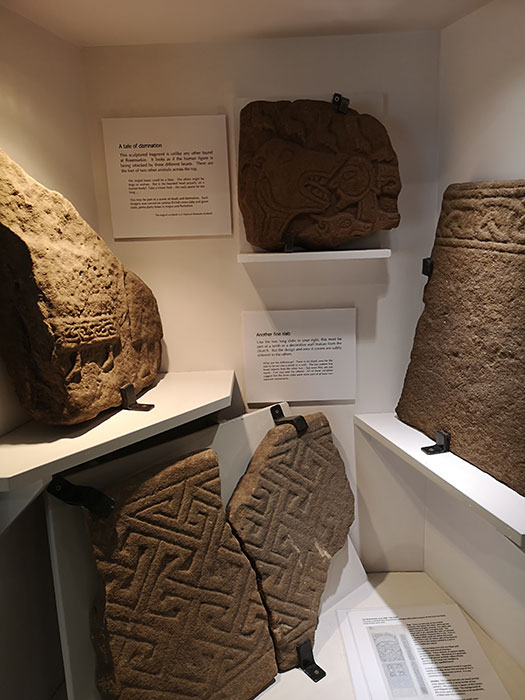 Pictish stones at Groam House Museum