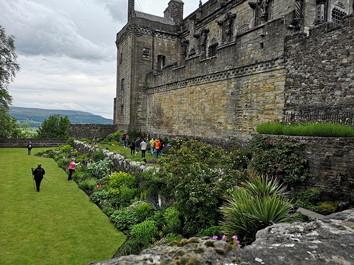 Queen Anne Gardens at Stirling Castle