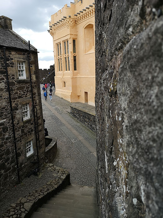 Stirling Castle, passageways between buildings
