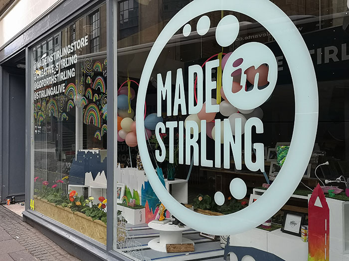 Shop in Stirling