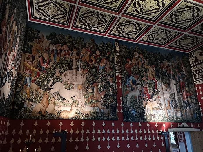 Tapestry at Stirling Castle