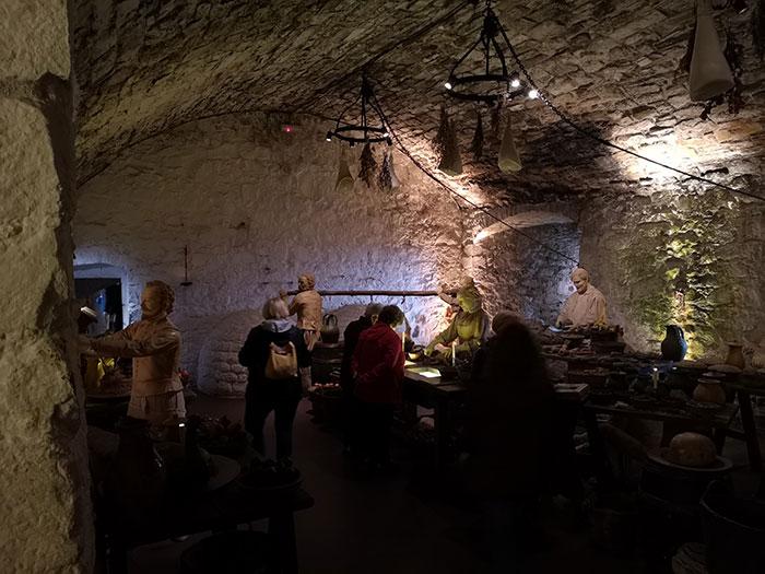 Kitchens at Stirling Castle