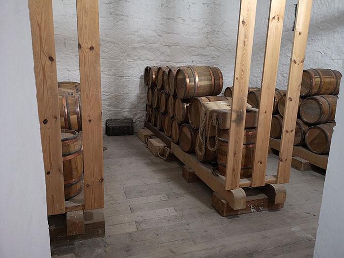 Gun powder room at Stirling Castle