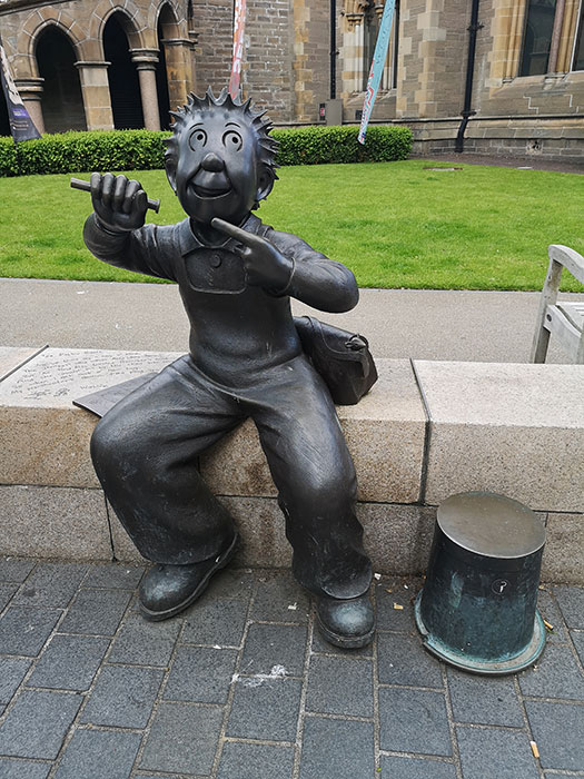 Statue in Dundee