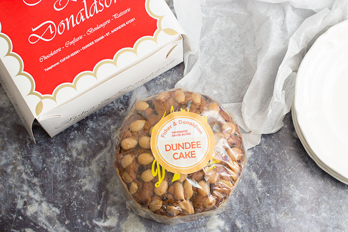 Dundee cake from Fisher & Donaldson