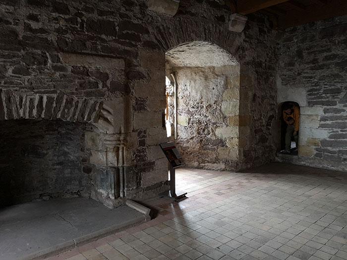 Doune Castle, interior