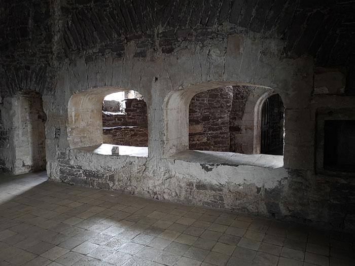 Doune Castle. kitchents