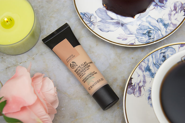 Matte Clay Skin Clarifying Foundation from The Body Shop