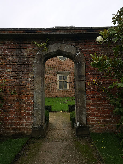 Tredegar House - archway in the garden