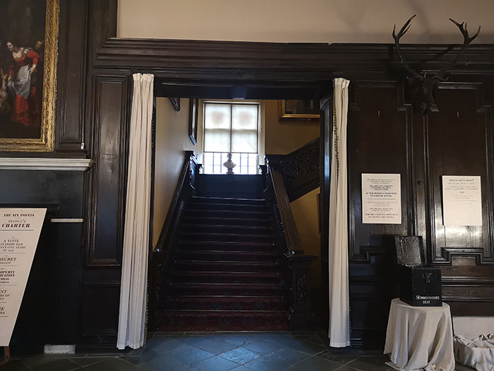 Main Stairs at Tredegar House
