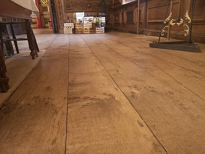 Tredegar House - oak flooring