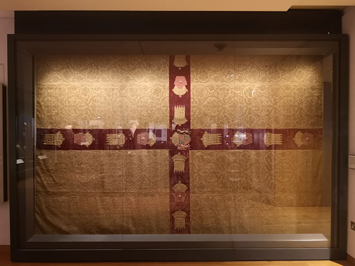 Henry VII's rug at Ashmolean