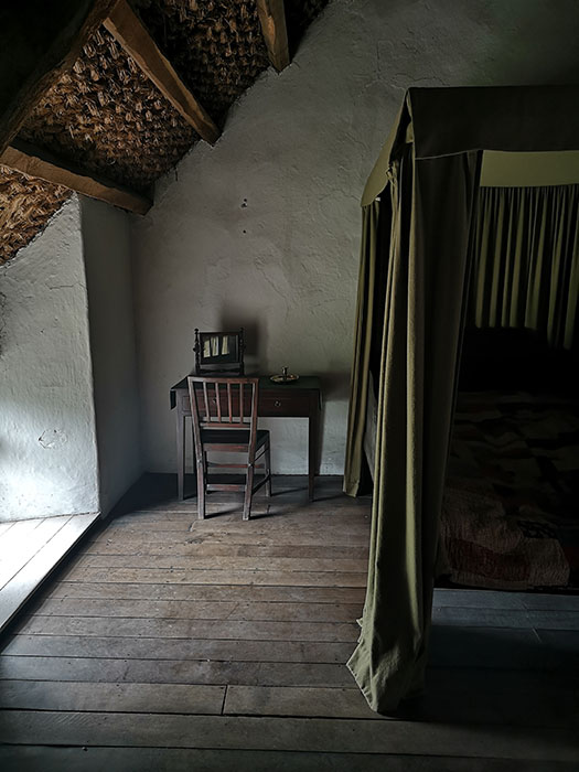 Room in a farmshouse at St Fagans Museum