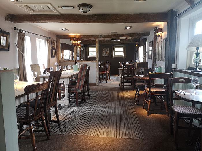 The Turnpike, inside the pub