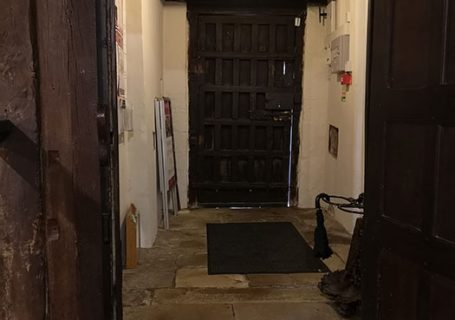 Entrance to Anne of Cleves House Museum