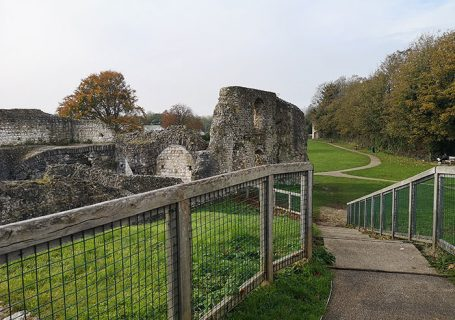Ruins of Lewes priory