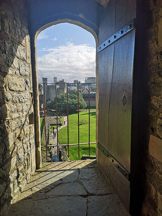 View from Cardiff Castle