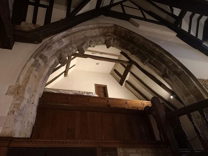 Arch at Michelham Priory