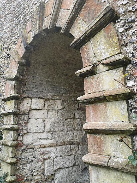 Arch at Lewes Castle