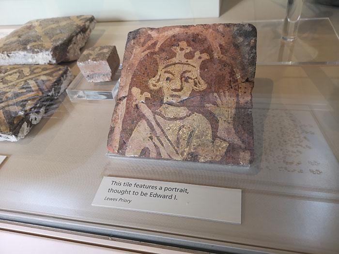 Tile of Edward I