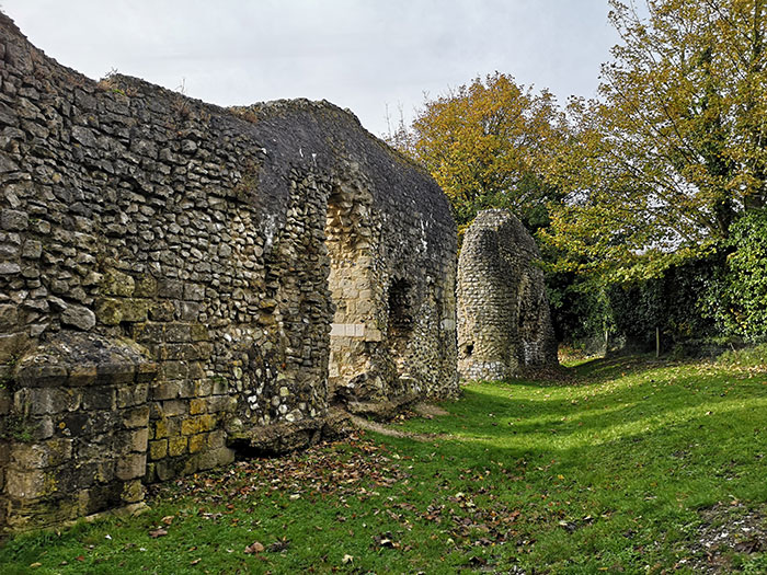 Ruins of priory
