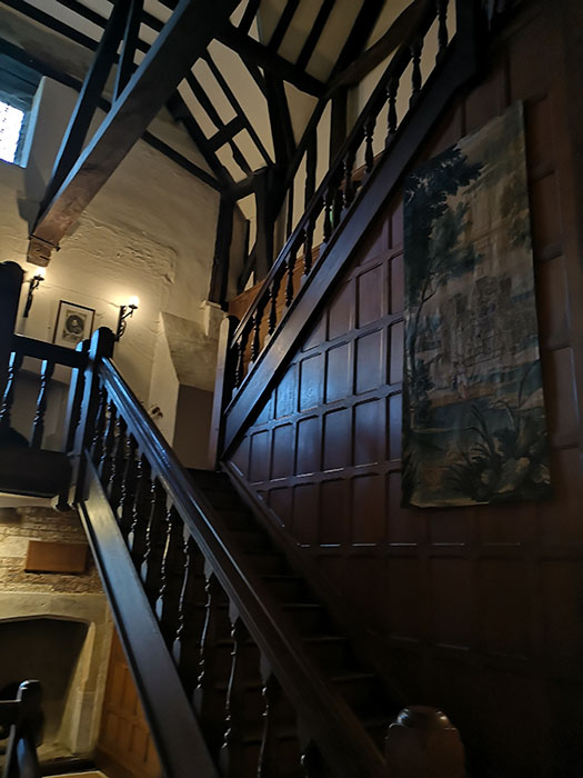 Staircase at Michelham Priory