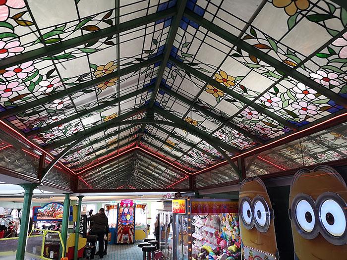Inside the Brighton Palace Pier