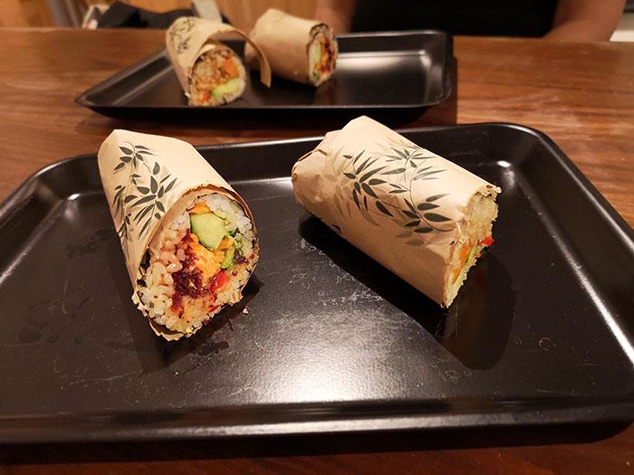 Lunch at Happy Maki