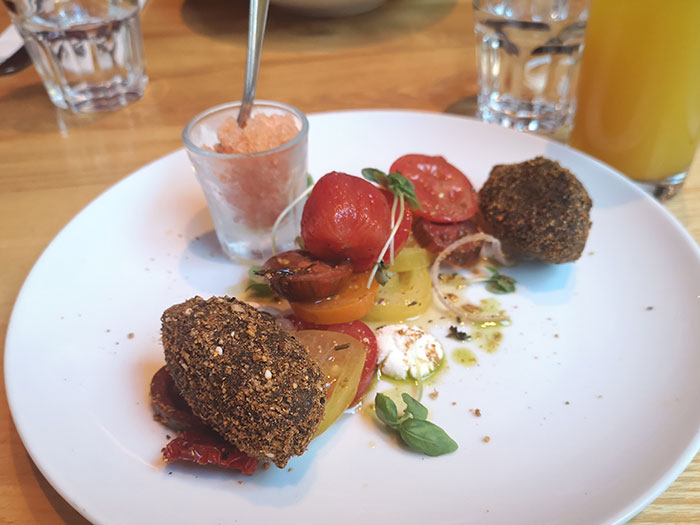 Terre à Terre - Tomato dish