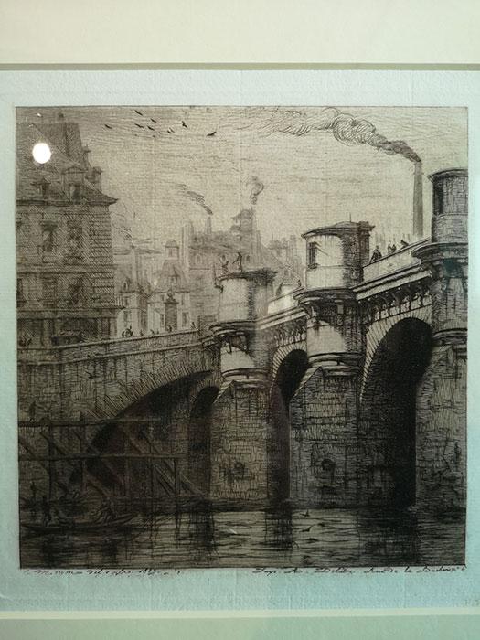 Meryon - Le Pont Neuf