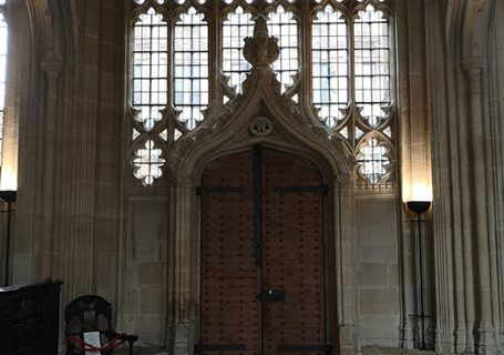 Bodleian Library - Door