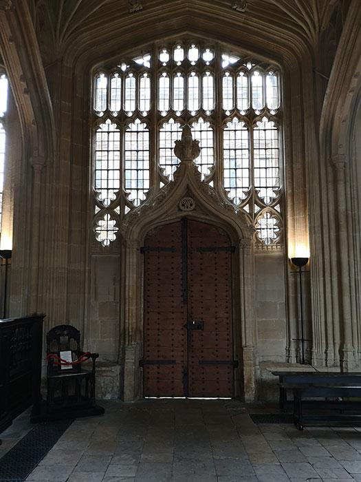 Bodleian Library - Door