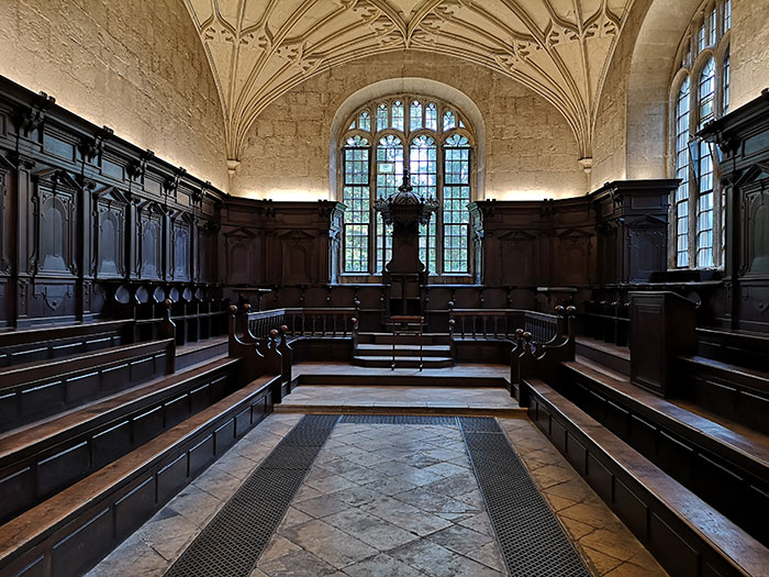 Chamber at Bodleian Library