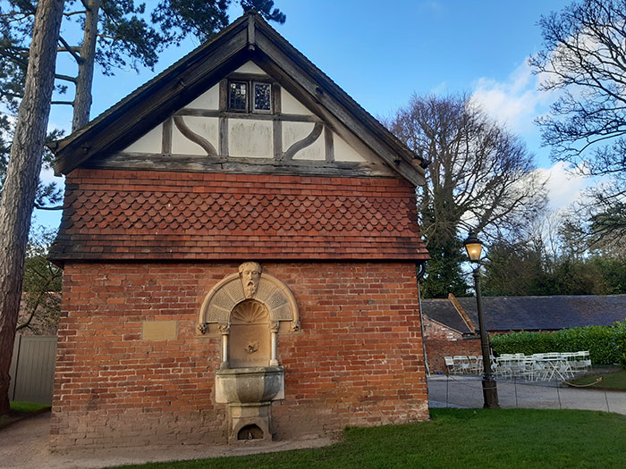 Building at Wightwick Manor