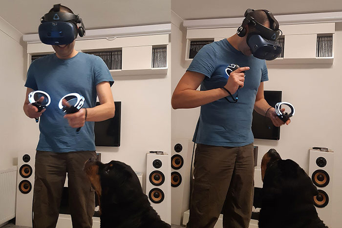 Playing - VIVE Cosmos