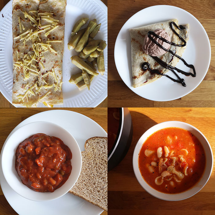 Meal plan - Friday