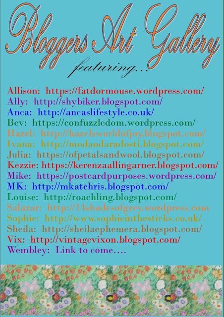 Blogger art gallery header