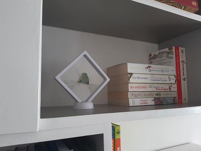 Tudor ceramic in the Bookcase