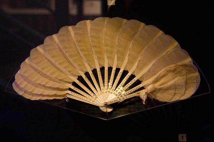 fan from Lusitania