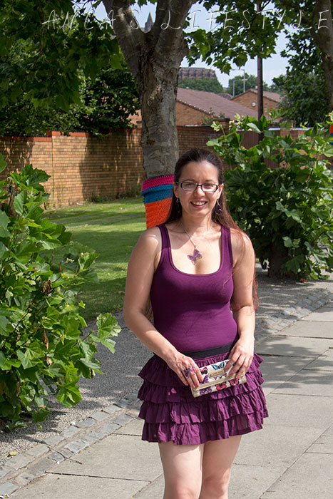 purple summer dress 2